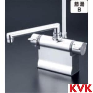 KF3011T KVK水栓金具 デッキ式サーモスタット式シャワー