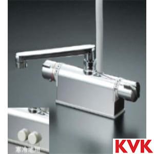 KF771TR2 デッキ形サーモスタット式シャワー 200㎜パイプ付
