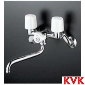 KM103N2 一時止水式2ハンドル混合栓