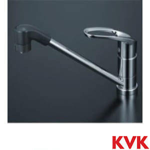 KM5011TF 流し台用シングルレバー式シャワー付混合栓