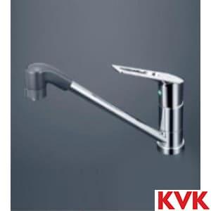 KM5011TFEC 流し台用シングルレバー式シャワー付混合栓