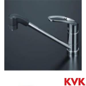 KM5011ZTF 流し台用シングルレバー式シャワー付混合栓