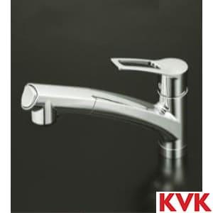 KM5021T 流し台用シングルレバー式シャワー付混合栓