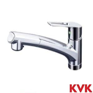 KM5021ZTEC 流し台用シングルレバー式シャワー付混合栓