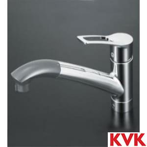 KM5031J 流し台用シングルレバー式シャワー付混合栓