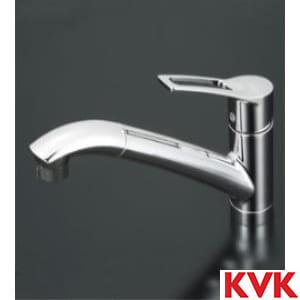 KM5031T 流し台用シングルレバー式シャワー付混合栓