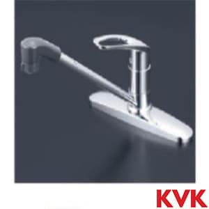 KM5091TF 流し台用シングルレバー式シャワー付混合栓