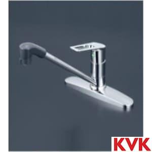 KM5091TFEC 流し台用シングルレバー式シャワー付き混合栓