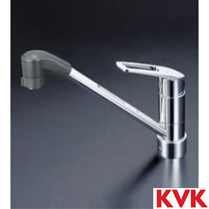 KM5211JTF 流し台用シングルレバー式シャワー付混合栓