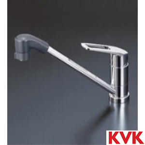 KM5211TF 流し台用シングルレバー式シャワー付混合栓