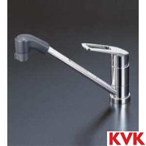 KM5211ZTF 流し台用シングルレバー式シャワー付混合栓
