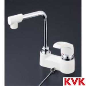 KM7024GS 洗面用シングルレバー式混合栓・ゴム栓付