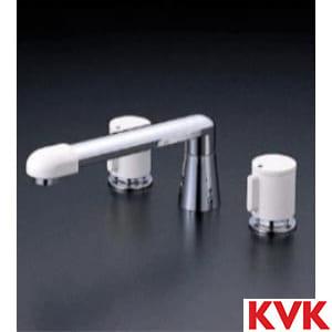 KM82GTLCU 2ハンドル混合栓(ナット接続)