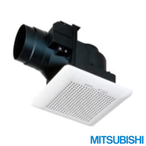 VD-10ZCD10 天井埋込形換気扇 低騒音電気式シャッター付