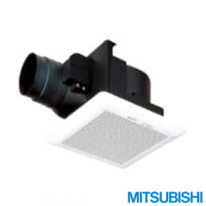 VD-13ZCD10 天井埋込形換気扇 低騒音電気式シャッター付
