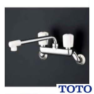 TKJ20AAU キッチン用水栓 2ハンドル混合栓(壁付キタイプ)