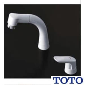 TL362E1SZ 台付シングル混合水栓(エコシングル、ハンドシャワー、寒冷地用)
